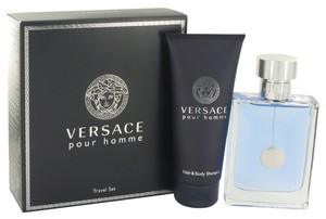 Versace Versace Pour Homme by Versace Gift Set - 3.4 oz Eau De Toilette Spray + 3.4 oz Shower Gel
