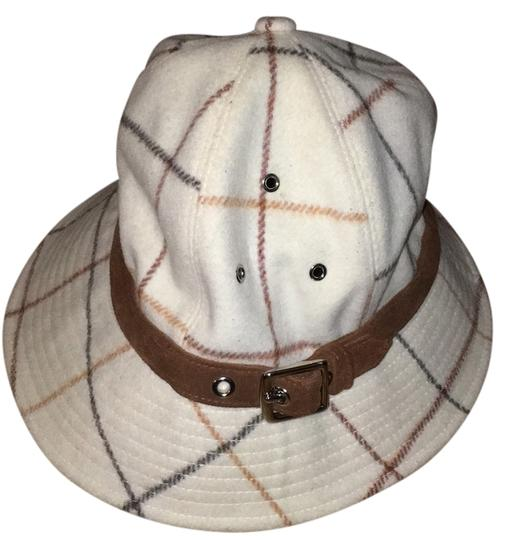 Preload https://img-static.tradesy.com/item/10210888/beige-off-white-wool-with-brown-trim-hat-0-1-540-540.jpg