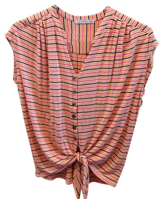 Preload https://item3.tradesy.com/images/red-haute-striped-button-down-top-size-4-s-10210957-0-1.jpg?width=400&height=650