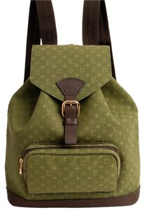 Louis Vuitton Mini Leather Rare Limited Edition Weekend Travel Bags Classic Designer Backpack