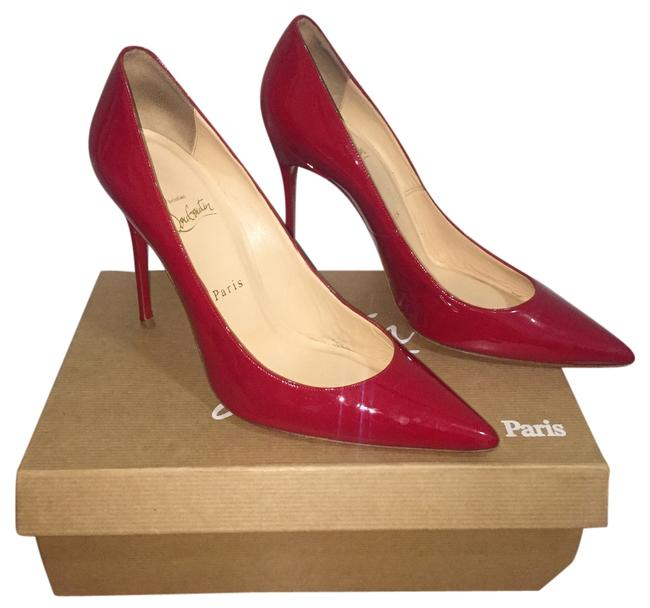 Item - Red Decollette 554 Platforms Size US 9.5 Narrow (Aa, N)