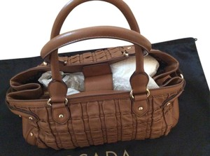 Escada Satchel in Light brown