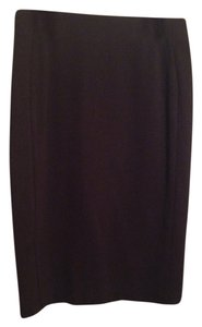 INC International Concepts Pencil Slimming Party Skirt Black