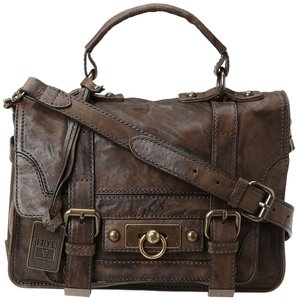 Frye Leather New Condition Satchel in Taupe