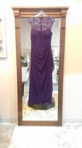 Xscape Plum Xs5531 Dress