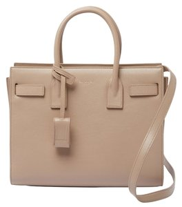 Saint Laurent Tote in Dark Beige