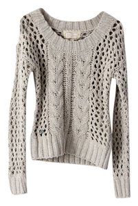RKF Cable Knit Handmade Hand Made Sweater