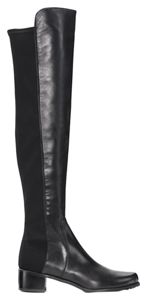 best authentic best selling the best attitude Stuart Weitzman Black Reserve Boots/Booties Size US 7 - Tradesy
