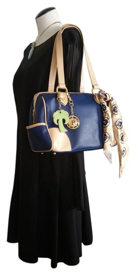 Preload https://item4.tradesy.com/images/parazul-classic-caribbean-collection-navy-leather-satchel-10214653-0-1.jpg?width=440&height=440