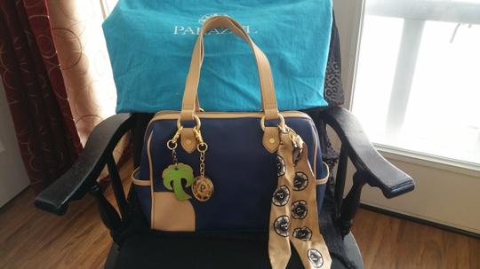Other Leather Rare Satchel in Navy Image 2