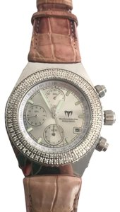 techno marine Techno marine Diamond Leather Watch