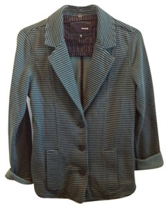 Hurley Black and Green Blazer