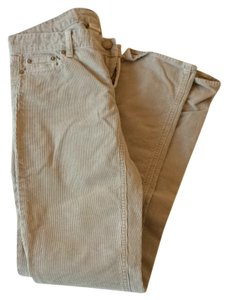 J.Crew Corduroy Straight Beige Tan Straight Pants Taupe/cool sand