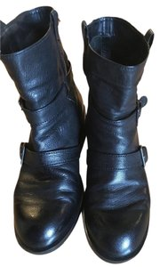 Cole Haan Comfortable Bootie Leather Black Boots
