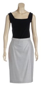 Escada Skirt Gray
