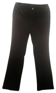 Jones New York Relaxed Pants Chocolate Brown