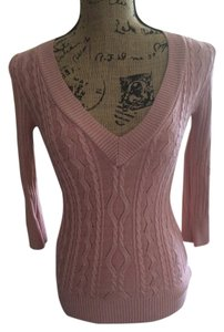 bebe Pink Classic Sweater