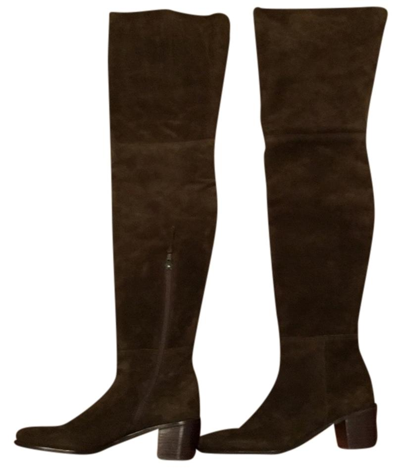 Stuart Weitzman Olive Green The Hittest. High. Over The Knee. Thigh High. Hittest. Boots/Booties 6c3263
