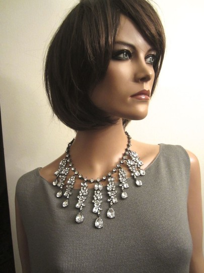 Scaasi Scaasi Queen's Crystal Rhinestone Necklace -- Signed! Spectacular! Mint!
