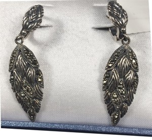Creative Designs by Appealinglady Marcasite New in Orginal Box Drop Earrings