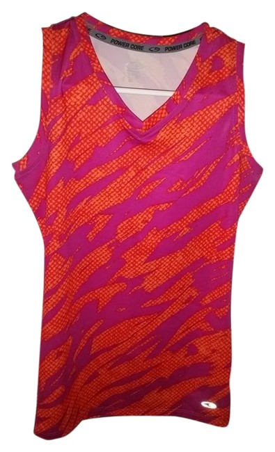 Preload https://item4.tradesy.com/images/champion-orangepink-fitted-power-core-multi-sport-athletic-orangepink-activewear-top-size-4-s-27-10219408-0-1.jpg?width=400&height=650
