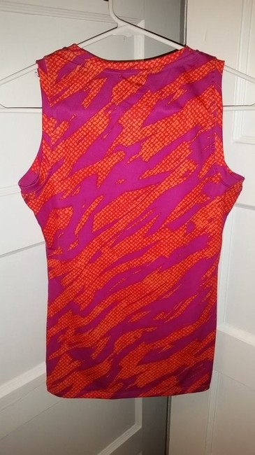 Champion Champion fitted power core multi-sport athletic tank top orange/pink
