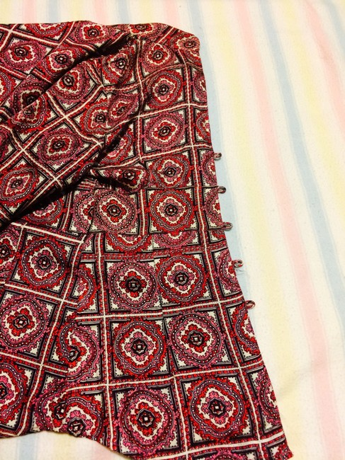 Stella Forest Silk Top pink and red-patterned Image 6