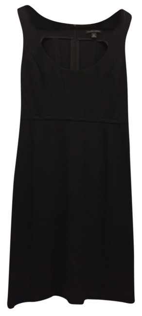 Preload https://item2.tradesy.com/images/banana-republic-blac-stretch-knit-sheath-knee-length-night-out-dress-size-6-s-10219531-0-1.jpg?width=400&height=650