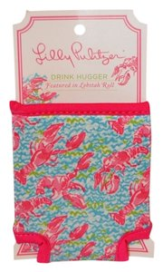 "Lilly Pulitzer Lilly Pulitzer ""Lobstah"" Roll Coozie-Brand New with Tags"