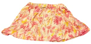 Wet Seal Mini Skirt Pink and Yellow Floral