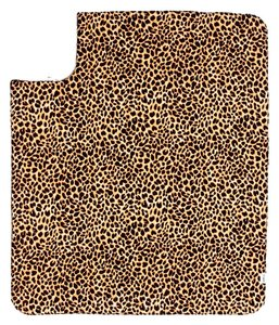 PINK Victoria's Secret PINK Soft Sherpa Blanket Throw - Animal Leopard Print