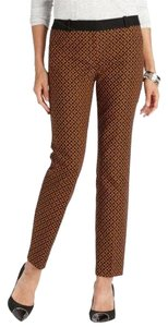 Ann Taylor LOFT Ankle Straight Pants Orange