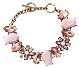 New Boho Peachy Pink Toggle Bracelet W/Matching Pieces Also For Sale