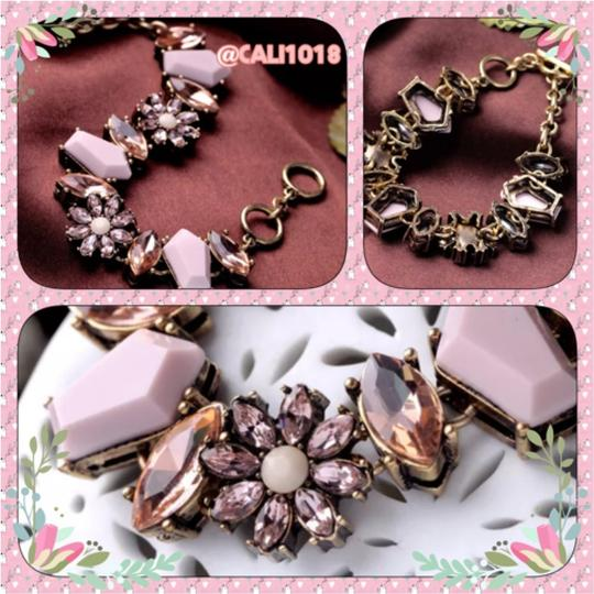 Other New Boho Peachy Pink Toggle Bracelet W/Matching Pieces Also For Sale Image 1
