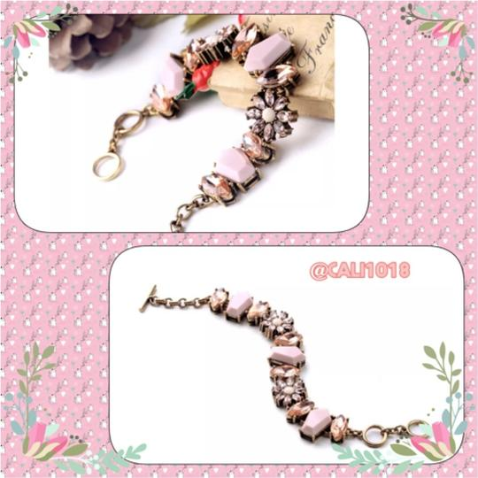 Other New Boho Peachy Pink Toggle Bracelet W/Matching Pieces Also For Sale Image 2
