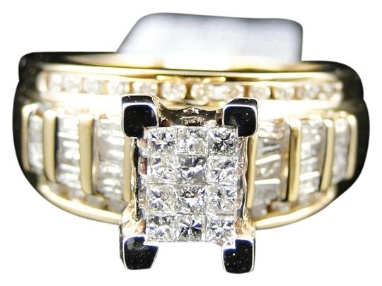 Preload https://img-static.tradesy.com/item/10221490/jewelry-unlimited-ladies-yellow-gold-princess-cut-diamond-engagement-wedding-bridal-set-1-ct-ring-0-1-540-540.jpg