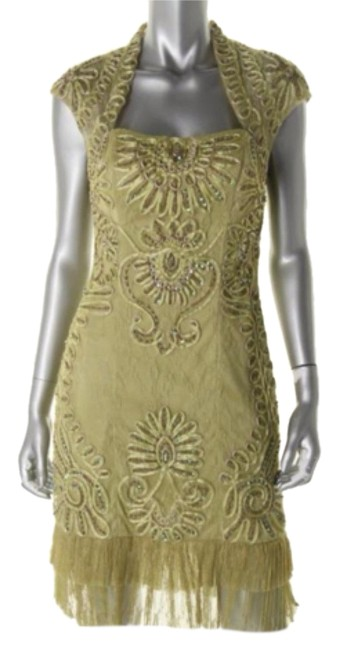 Preload https://item1.tradesy.com/images/sue-wong-green-above-knee-cocktail-dress-size-6-s-10222120-0-1.jpg?width=400&height=650