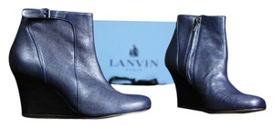 Lanvin And Navy Boots