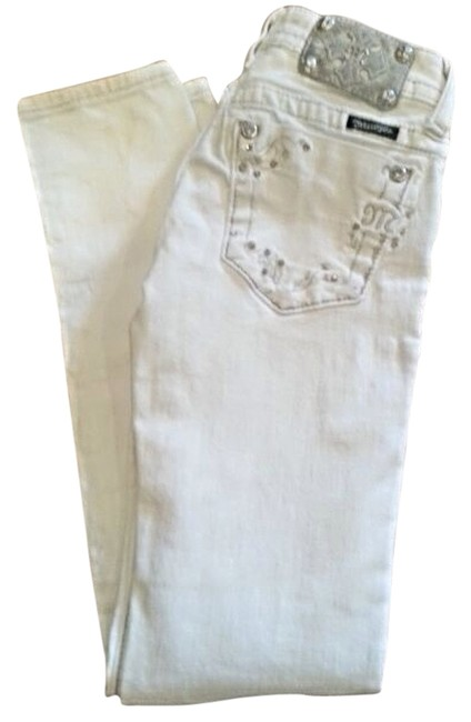 Item - White Coated Jp541753 Skinny Jeans Size 25 (2, XS)