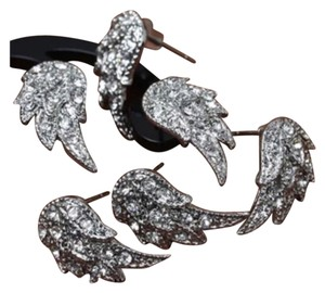 Private Collection Crystal Stud Angel Wings