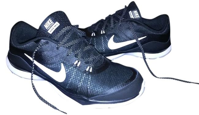 Item - Black/White Anthracite Flex Trainer Sneakers Size US 9.5 Wide (C, D)