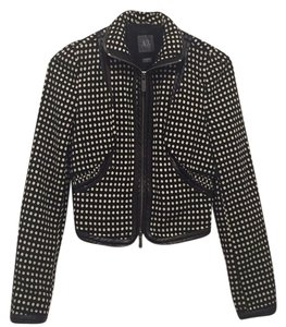 A|X Armani Exchange Black and white Jacket