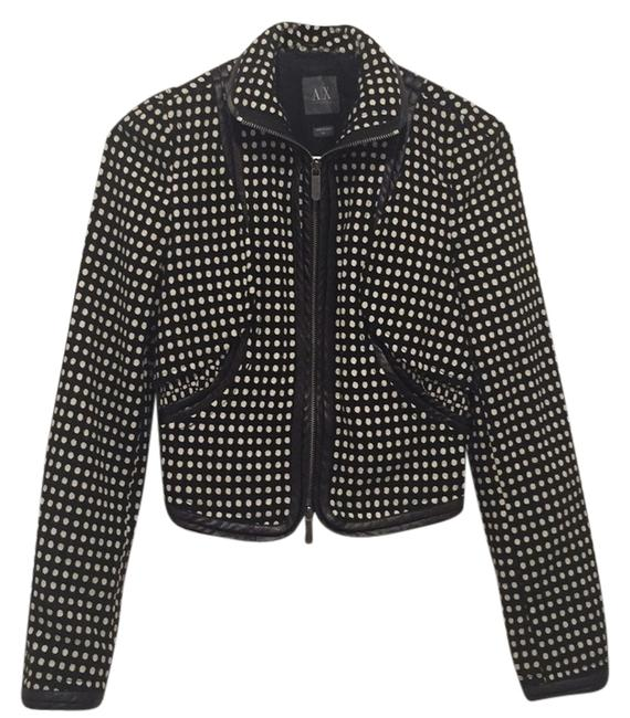 Preload https://item5.tradesy.com/images/ax-armani-exchange-black-and-white-spring-jacket-size-2-xs-10223059-0-1.jpg?width=400&height=650