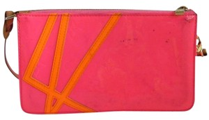 Louis Vuitton Limited Edition Fluo Rose Vernis Shoulder Bag