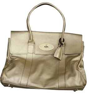 Mulberry Bayswater Gold Shoulder Bag