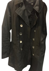 Preload https://item5.tradesy.com/images/express-black-trench-coat-size-10-m-10223974-0-1.jpg?width=400&height=650