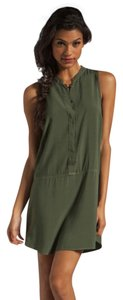 Splendid short dress Military Green Olive Hunter on Tradesy