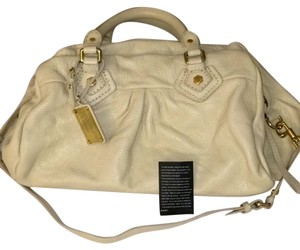 Marc by Marc Jacobs Satchel in Cream