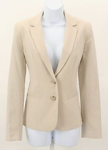 Anne Klein Anne Klein Cream Two-button Blazer B260