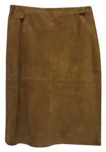 Terry Lewis Skirt Tan